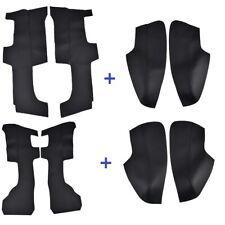 For Honda CRV 2017 2018 Car Door Panel Armrest Cover Microfiber Leather Black
