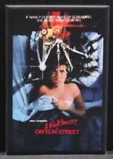 "A Nightmare on Elm Street Movie Poster 2"" X 3"" Fridge Magnet. Freddy Krueger"