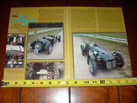 1953 MG R1 SPECIAL SPORTS RACE CAR - ORIGINAL 1977 ARTICLE