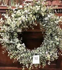 Baby Eucalyptus Wreath - Mills Floral - Fake - New Condition