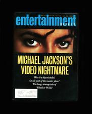 ENTERTAINMENT WEEKLY- NOVEMBER 29,1991-MICHAEL JACKSON VIDEO NIGHTMARE-BLK/WHITE