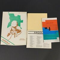 Angola Gameshop War Game Unpunched Counters Combat Tactical Vintage 1979