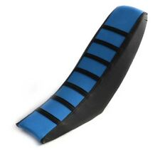 Universal Dirt Bike Off-road Motorcycle Seat Cover Blue Soft Rubber Seat Cover