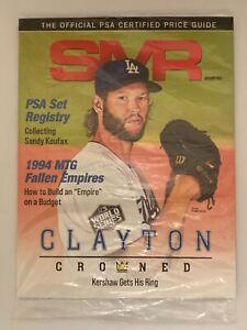 PSA Sports Market Report (SMR) Magazine Sealed (January 2021) Clayton Kershaw