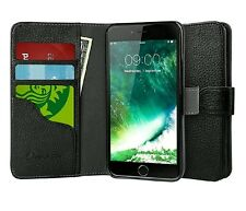New Apple iPhone 7/ 8 Hybrid Slim Book Leather Wallet Folio Cover Case W/ Stand