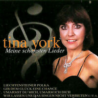 CD Tina York Best of Meine Schönsten Lieder 16 Titel Hits Album Schlager Neu