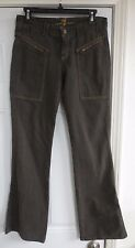 Seven 7 for all mankind Size 26 x 33 Jeans Pants Womens Cotton Distressed Zipper