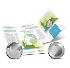 zilver Vredespaleis vijfje proof 15,5gram .925 blister blisterverpakking 5 euro