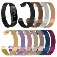 Armband Uhrenarmbänder Ersatzband Strap Für Fitbit Inspire&Inspire HR Edelstahl