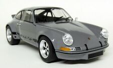 Solido 1/18 Scale - Porsche 911 2.8 RSR Carrera 1974 Grey Diecast model car
