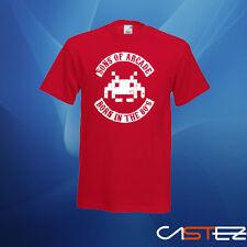 Camiseta son's of arcade born in 80 nacido 80 gamer (ENVIO 24/48h)VARIOS COLORES