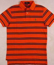 Polo Ralph Lauren Shirt Mesh Stripe Custom Fit Mesh Shirt S SMALL NWT $90