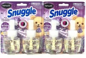 2 Packs Renuzit 1.34 Oz Snuggle Relaxing Lavender 2 Count Universal Refill