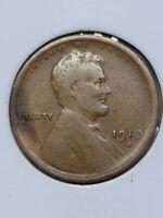 1910 S San Francisco Mint Copper Lincoln Wheat Cent