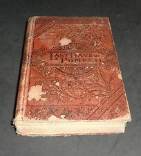 LAST DAYS OF POMPEII 1885 (3 VOLUMES IN ONE BOOK):