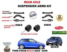 FOR FORD FOCUS ST170 2.0 2002> REAR SUSPENSION UPPER LOWER TRACK CONTROL ARM SET