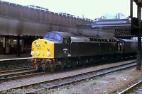 British Rail Class 40 40 106 Manchester Victoria 08/10/82 Rail Photo B