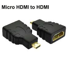 1 piece Micro HDMI type D to HDMI Female Converter Adapter For Microsoft Surface