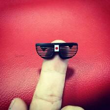 Custom 1/6 Scale Sho'nuff Sunglasses (The Last Dragon) for Michael Garner's HS