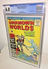 Unknown Worlds #10, CGC 6.0, Off-White to White Pages