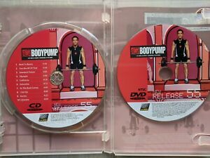 Les Mills Body Pump Release 55 DVD and CD (No Choreography Booklet)