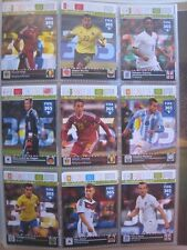 PANINI ADRENALYN FIFA 365 TOP TEAMS ALL INTERNATIONAL RISING STAR 9 Card set