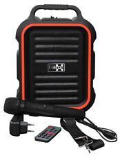 E-Lektron EL16-P tragbare Soundanlage Bluetooth PA Soundsystem Mikrofon Karaoke