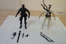 GI Joe Snake Eyes And Storm Shadow Action Figures 3.75 Inch!Yo Joe!