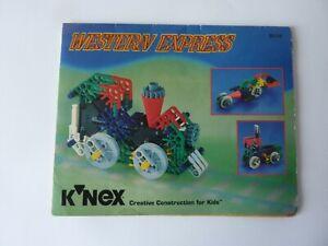 K'nex WESTERN EXPRESS 20534 instructions only