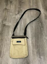 Kavu Keepalong Canvas Purse Crossbody Bag Adjustable Beige Khaki