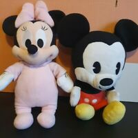 Mickey and minnie mouse soft toys - cuties - baby
