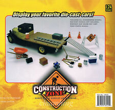 New Construction zone set 1/24 INCLUDES AUTHENTIC REPLICAS OF REAL ACCESORIES
