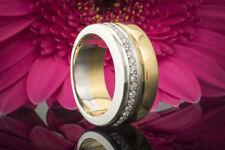 Schmuck Georg Lauer Bicolor Ring mit 0,25 Carat Brillanten in 750er Gold