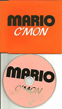 MARIO c'mon w/ RARE EDIT & REMIX UK made PROMO DJ CD single 2003 Usa Seller