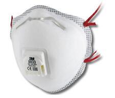 3M 8833 - Premium con valvola POLVERE MASCHERA RESPIRATORE FFP3 - Confezione da