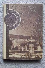 1938 JOHN C. FREMONT HIGH SCHOOL YEAR BOOK,  LOS ANGELES CALIFORNIA