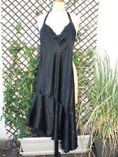 Sandro robe Angel été noir soie taille 1