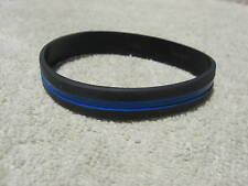 Thin Blue Line Memorial Support Wristband/Bracelet TBL Police New