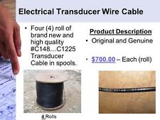 Electrical Transducer Wire Cable