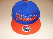 Zephyr Florida Gators Snapback Cap Hat Headliner NCAA Two Tone Basketball