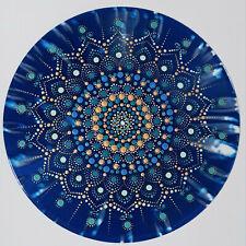 disc-mandala 13 / vinyl record mandala art handmade painting