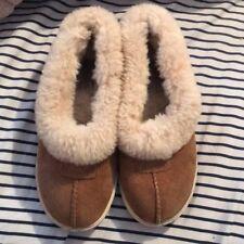 UGG Australia Kids Youth Size 1 chestnut  Rylan Slippers
