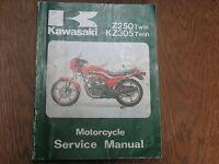 1979 1980 1981 1982 1983  KAWASAKI KZ305 KZ 305 Z250 Z 250  Z350 SERVICE MANUAL
