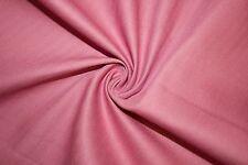 Rose Cotton Stretch Twill #12 Bottom Weight Spandex Lycra Fabric BTY