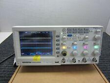 Gw Instek Gds 2204a 200mhz 2 Gsas 4 Channel Digital Storage Oscilloscope