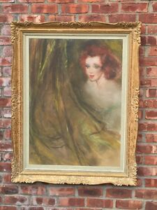 Pal Fried Pastel Painting From White Shoulders Founder Walter Langers Collection