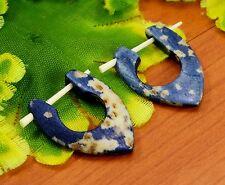 Tibetan Tribal Handmade Carving African Design Boho Bone Stick Earrings EAR459
