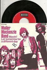"Mailer Mackenzie Band - Movin` (1970)  GERMANY 7"" (orig)"