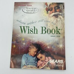 2000 Sears Wish Book Christmas Toy Catalog (Photo Cover)