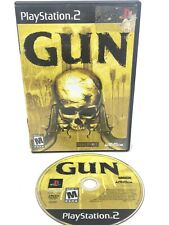 GUN PS2 Video Game Game Disc only- FREE SHIPPING